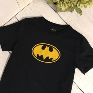 Boys Black Batman T Shirt Size 8